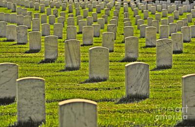 Photograph - Arlington National Cemetery 2 by Jonathan Harper