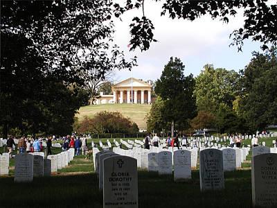 Arlington National Cemetery Print by Bill Cannon