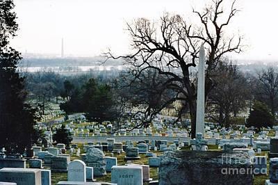 Photograph - Arlington National Cemetery by D Hackett