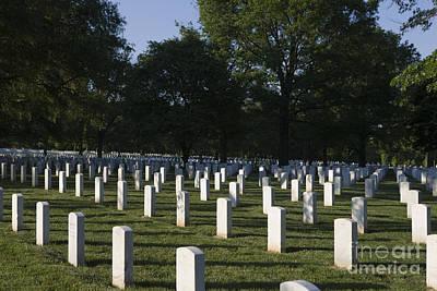 Minimalist Movie Quotes - Arlington National Cemetery by Jason O Watson