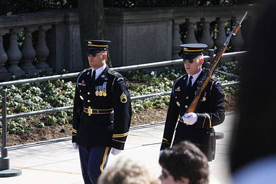 Arlington National Cemetery - Tomb Of The Unknown Soldier - 121222 Art Print