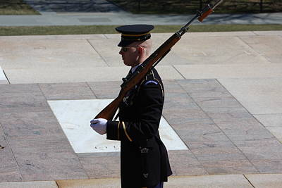 Soldier Photograph - Arlington National Cemetery - Tomb Of The Unknown Soldier - 121225 by DC Photographer