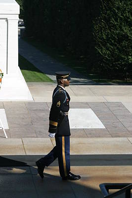 Tomb Photograph - Arlington National Cemetery - Tomb Of The Unknown Soldier - 12129 by DC Photographer