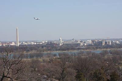 Arlington National Cemetery - View From Arlington House - 12122 Art Print by DC Photographer