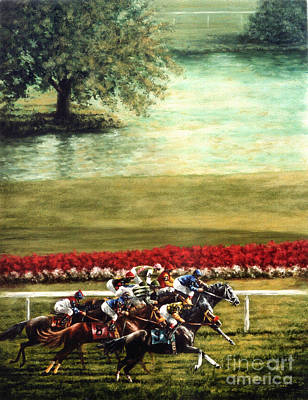 Arlington Park Art Print by Thomas Allen Pauly