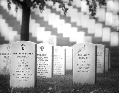 Photograph - Arlington Remembrance by Mark Andrew Thomas