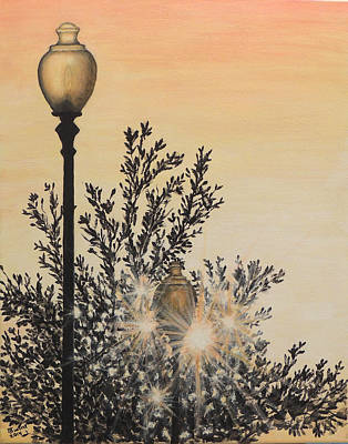 Painting - Arlington Sun Lights by David Swint