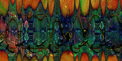Digital Art - Armadillo by Kiki Art