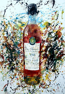 Painting - Armagnac by Fabrizio Cassetta