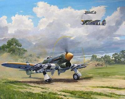 Painting - 'armed And Dangerous - Typhoon' by Colin Parker