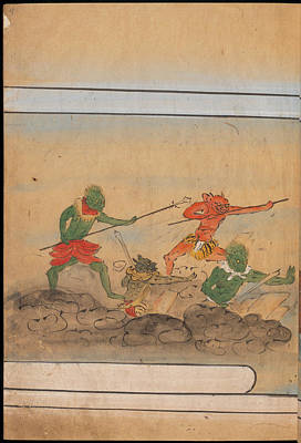 Goblin Photograph - Armed Goblins by British Library