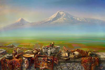 Armenian Painting - Armenia by Meruzhan Khachatryan