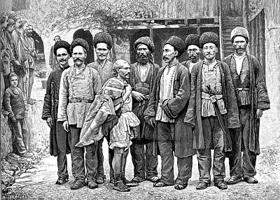 Armenian Miners Art Print by Collection Abecasis