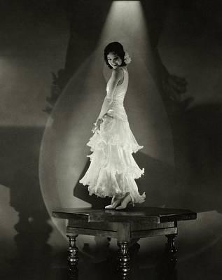Shadow Dancing Photograph - Armida Dancing by Edward Steichen