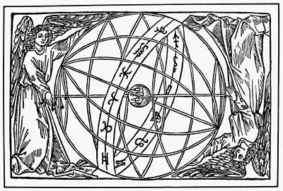 Armillary Sphere, 1509 Art Print by Granger