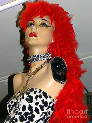 Photograph - Armless Redhead by Ed Weidman