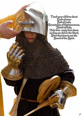 Photograph - Armor Of God by Sandra Clark