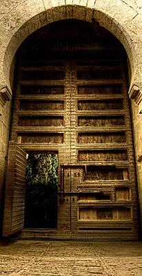 Photograph - Armored Gate Of Justice Of The Alhambra by Weston Westmoreland