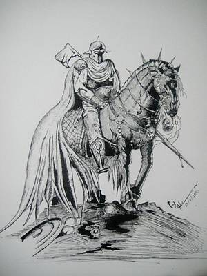 Armour And The Horse Original by Umme Kulsoom