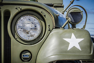 Photograph - Army Jeep by Bradley Clay