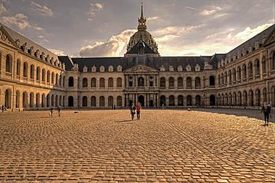 Photograph - Army Museum Of France - Inner Courtyard - 1  by Hany J