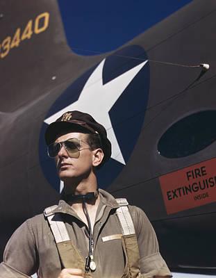 Army Test Pilot, 1942 Art Print