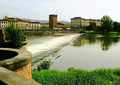 Photograph - Arno River 1 by Ellen Henneke