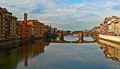 Photograph - Arno River by Eric Tressler