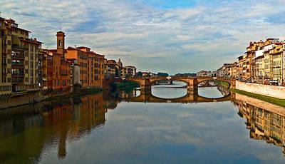 Photograph - Arno River by Eric Tressler