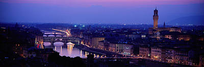 Arno River Florence Italy Art Print by Panoramic Images