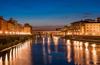 Photograph - Arno River by Gurgen Bakhshetsyan