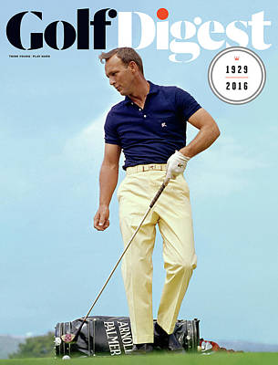 Golf Photograph - Arnold Palmer by Lester Nehamkin