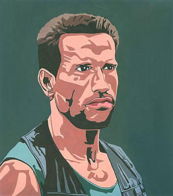 Schwarzenegger Painting - Arnold Schwarzenegger by Andres Ortega
