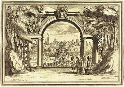 Arnold Von Westerhout, Flemish 1651-1725 Art Print by Litz Collection