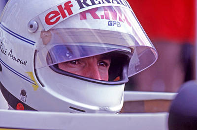 Canadian Grand Prix Photograph - Arnoux by Mike Flynn
