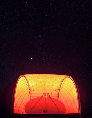 Quinlan Photograph - Aro Telescope by Babak Tafreshi