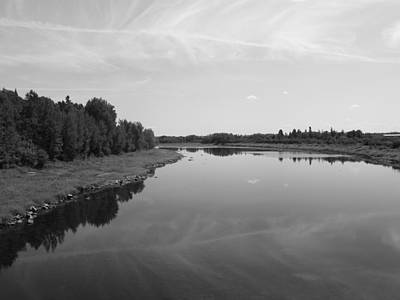 Photograph - Aroostook River 1 by Gene Cyr