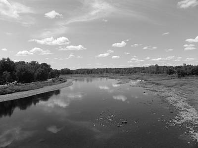 Photograph - Aroostook River 2 by Gene Cyr