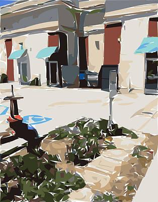 Bay Area Digital Art - Around Back by Nolan Schoichet