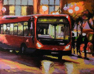 Transport Painting - Around Bexleyheath by Paul Mitchell