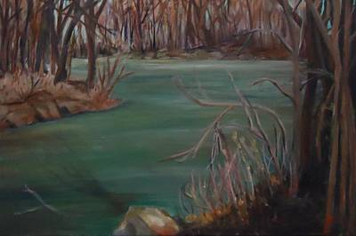 Painting - Around The Bend by Betty Pimm