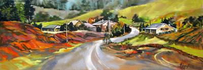 Around The Bend Original by Rae Andrews