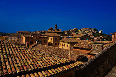 Photograph - Arpino Roofscape by Dany Lison