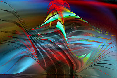 Digital Art - Arrangement - Abstract by rd Erickson