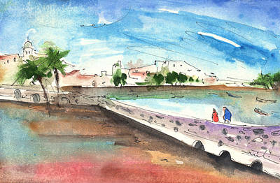 Painting - Arrecife In Lanzarote 02 by Miki De Goodaboom