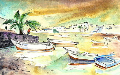 Painting - Arrecife In Lanzarote 07 by Miki De Goodaboom