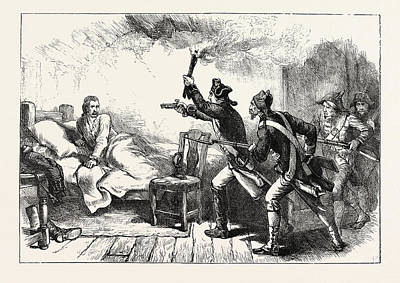 Prescott Drawing - Arrest Of General Prescott, Us, Usa by English School
