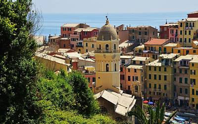 Photograph - Arrival In Vernazza - Cinque Terre by Dany Lison