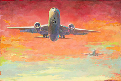 Painting - Arrivals #2 by David Palmer