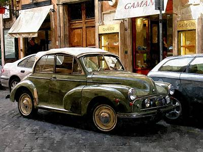 Sienna Italy Digital Art - Arrivederci Roma by Duende Artworks